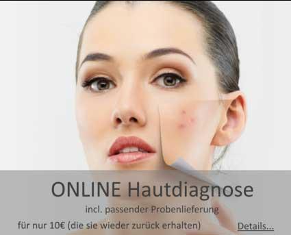 Hautdiagnose und Hautanalyse