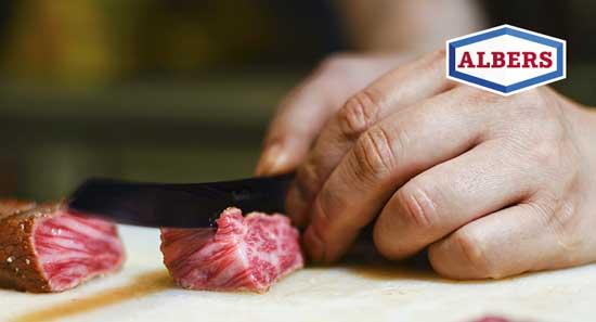 Rib-Eye Steak: Der Zuschnitt
