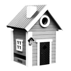 Vogelhäuser als kleine Kunstwerke im Garten