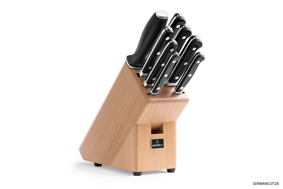 Der automatische Messerschleifer gehört zu jedem Messerblock!